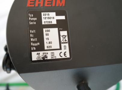 EHEIM 2215-ös külső szűrő eladó