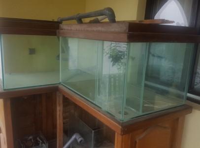 600 literes akvárium eladó
