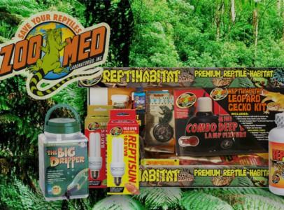 ZooMed termékek széles választéka