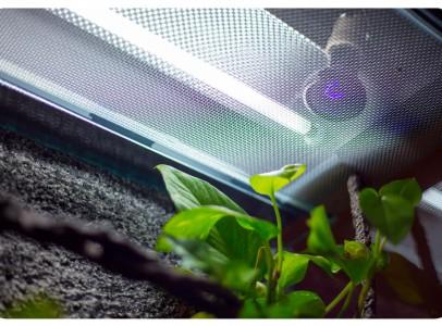 Terrárium klímavezérlő lámpatest /Azure650/