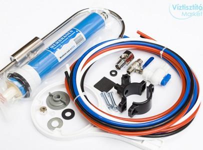 Ozmóvíz készítés - PurePro RO105 RO víztisztító
