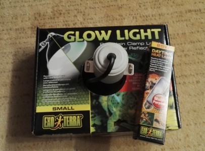 ExoTerra GlowLight S+25W Daytime Heat Lamp
