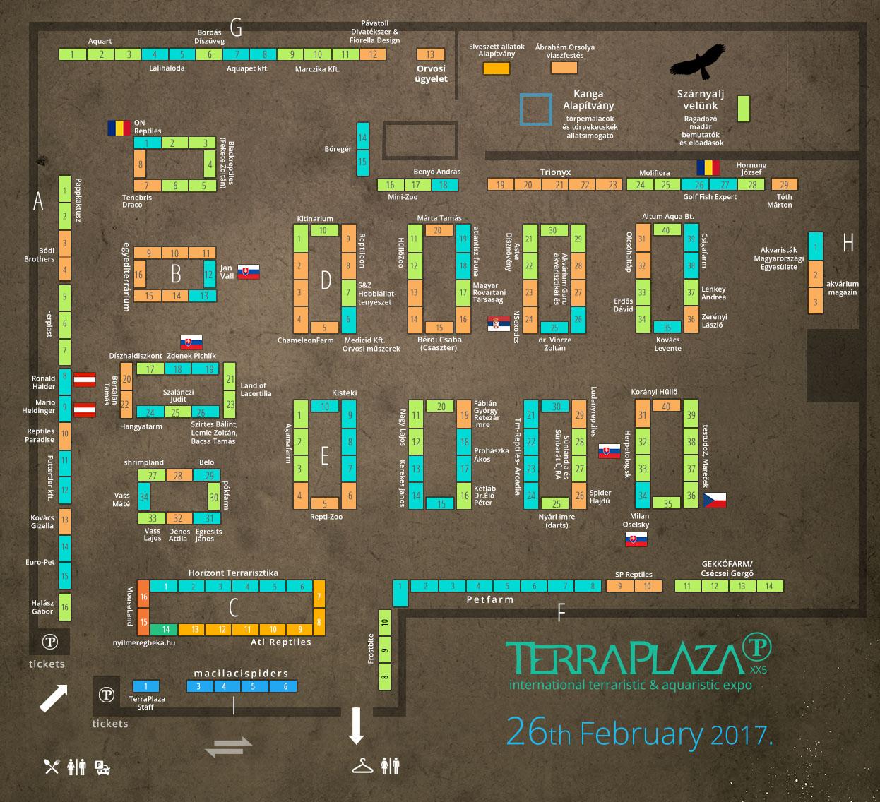 TerraPlaza XX5 térkép