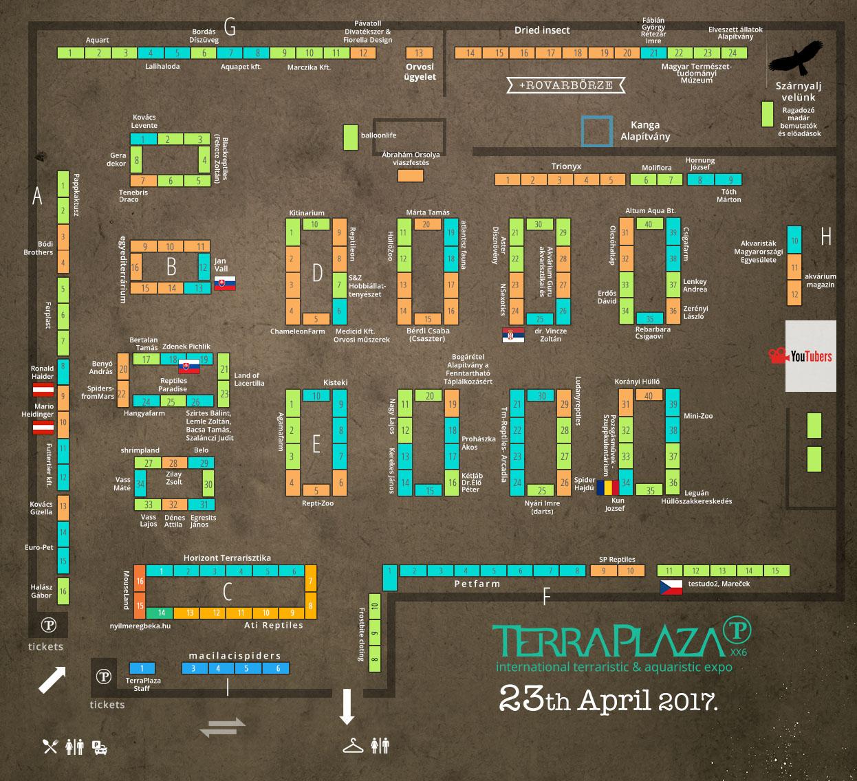 TerraPlaza XX6 térkép