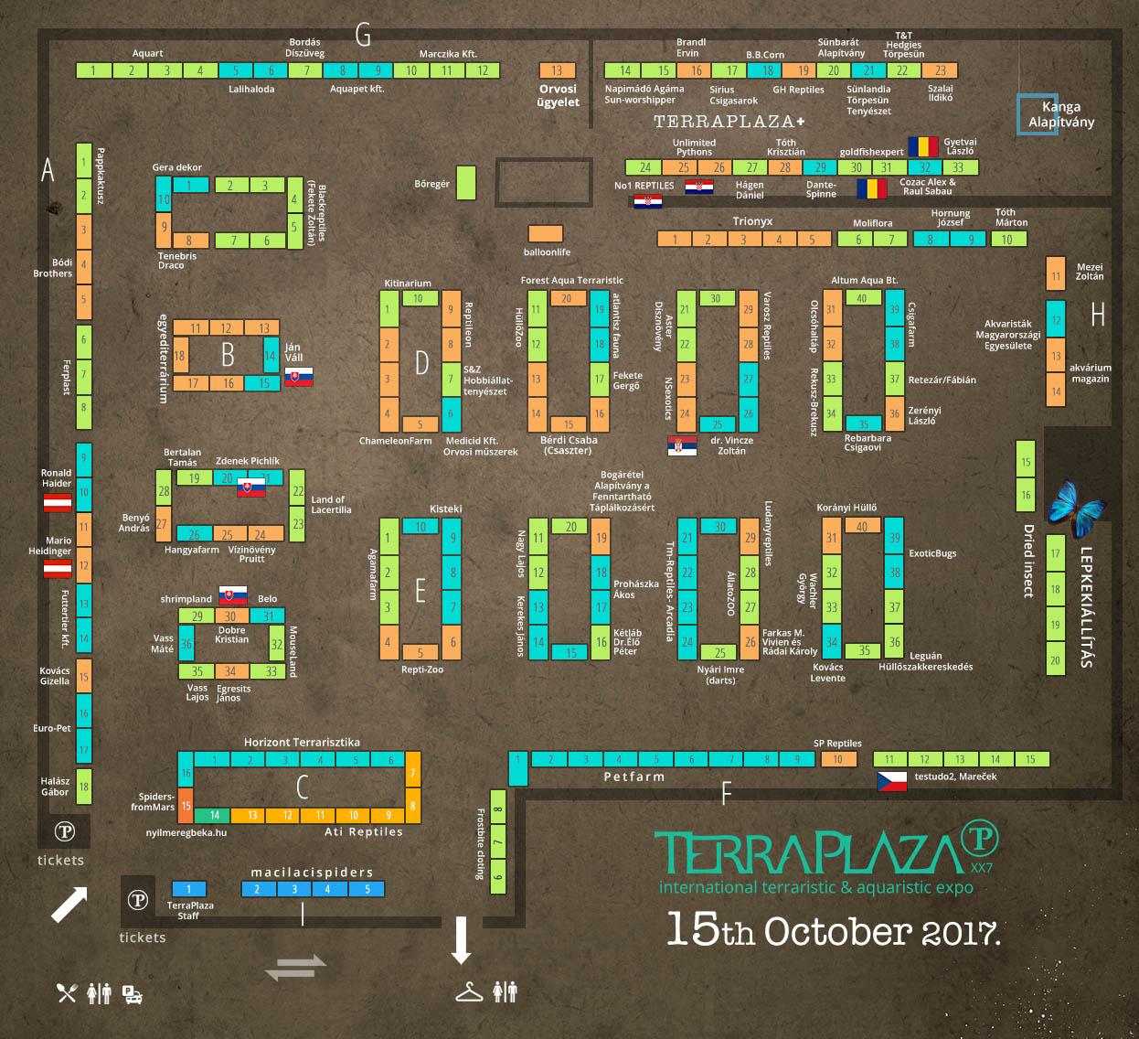 TerraPlaza XX7 térkép