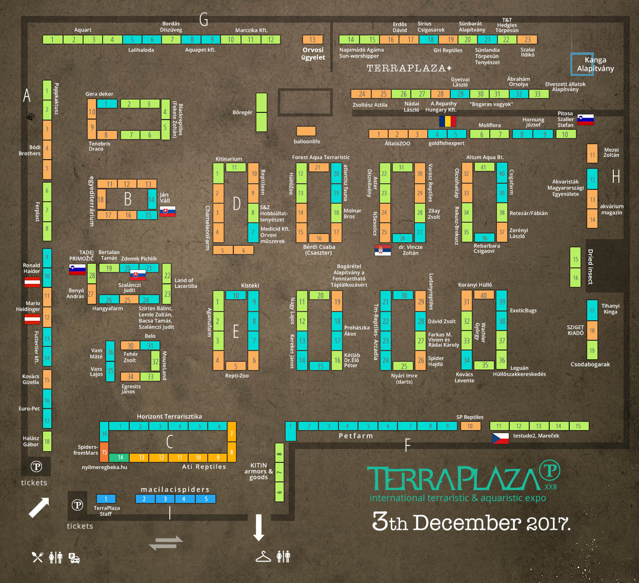 TerraPlaza XX8 térkép
