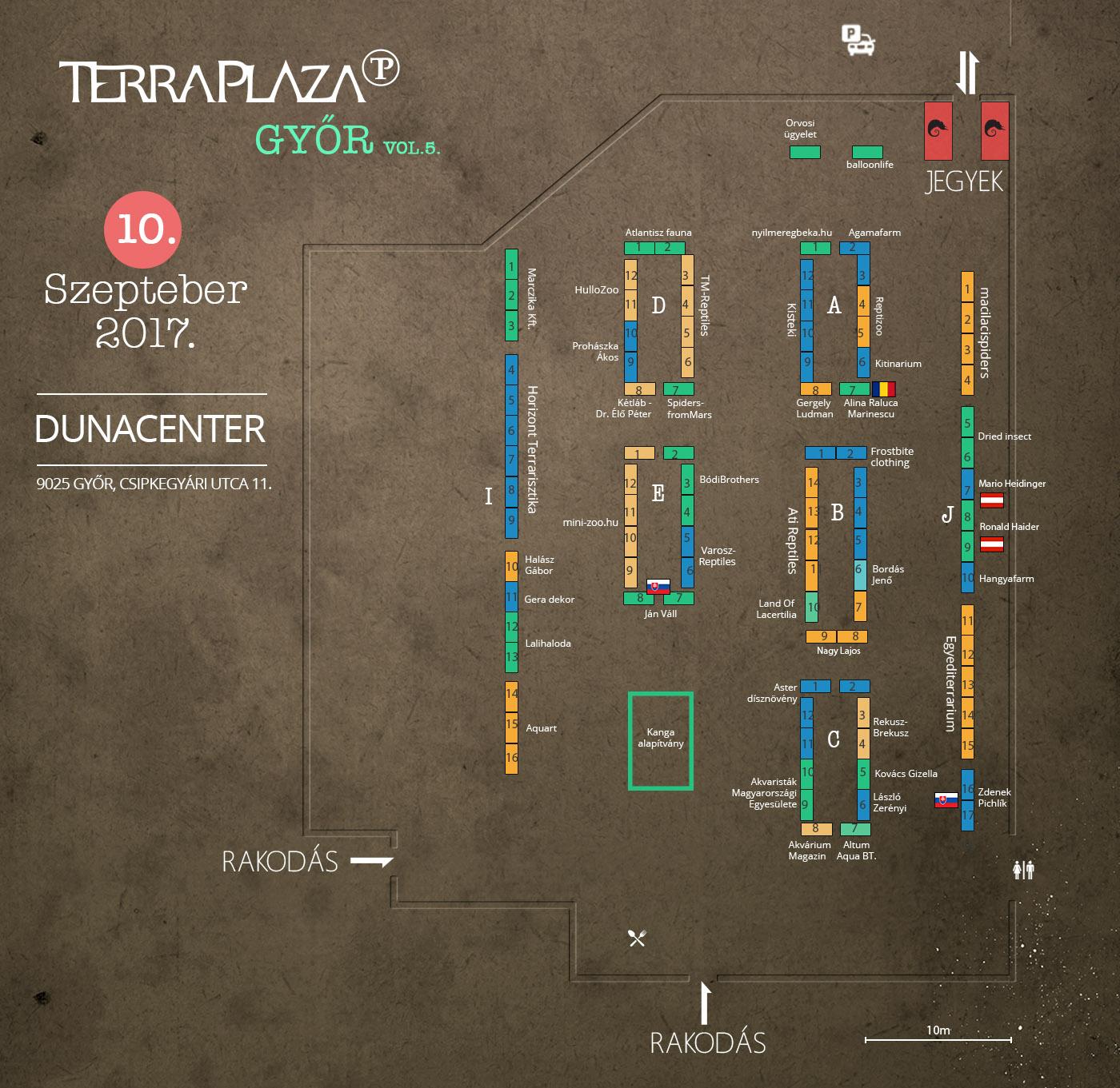 TerraPlaza győr térkép