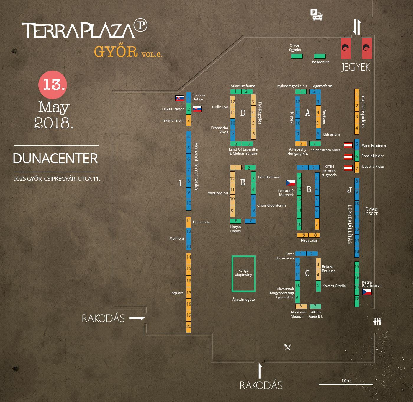 TerraPlaza gyor 6 terkep